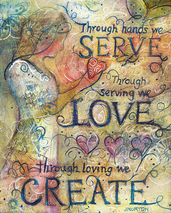 Jen Norton - Serve Love Create