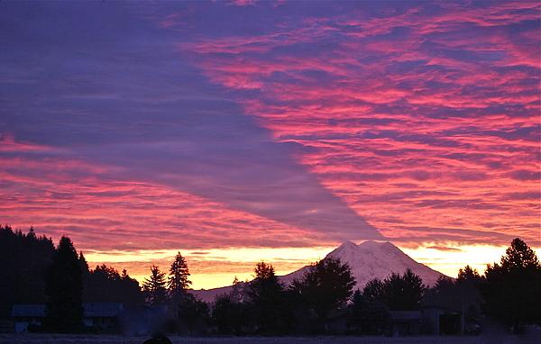 Sean Griffin - Shadow of Mount Rainier