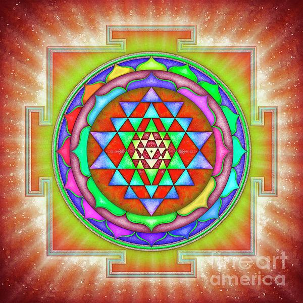 Dirk Czarnota - Shining Sri Yantra Mandala II
