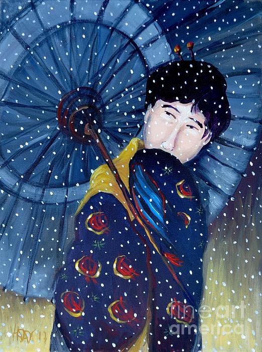 Vanessa Hadady BFA MA - Shinsui Night Snow