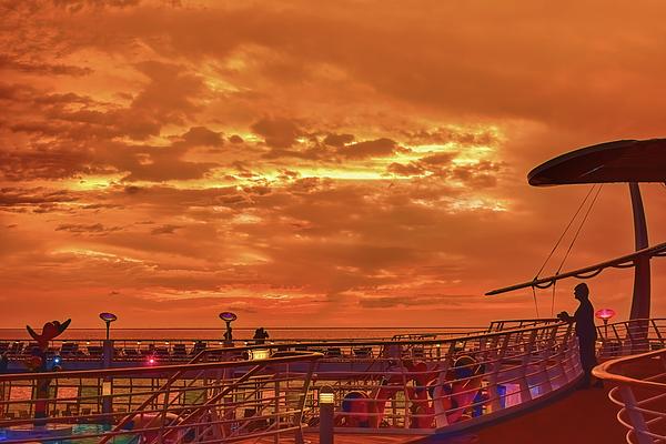 John M Bailey - Shipboard Sunset