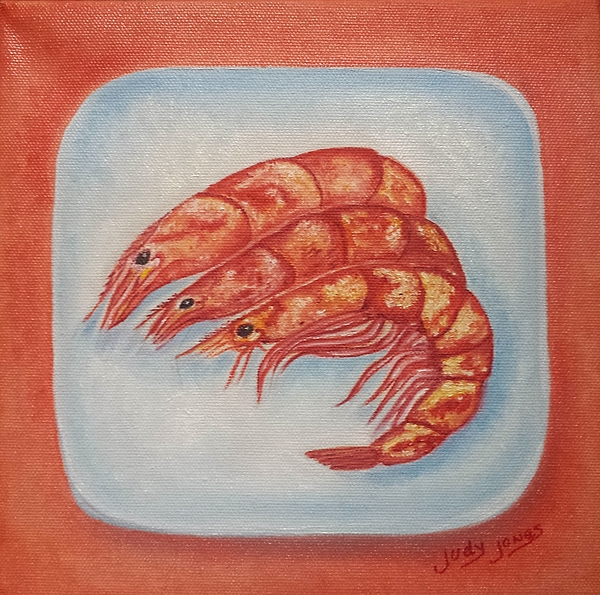 Judy Jones - Shrimp on a Platter