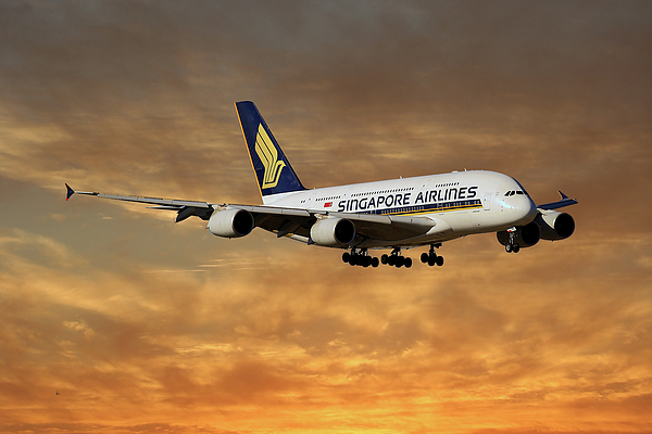 077b40b3 Singapore Airlines Airbus A380-841 2 IPhone X Case for Sale by Smart ...
