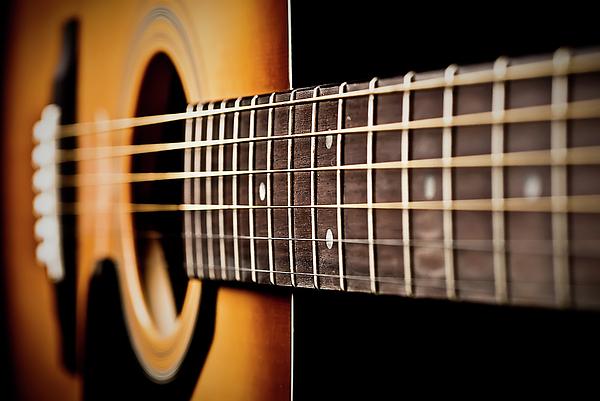 Six String Guitar Photograph