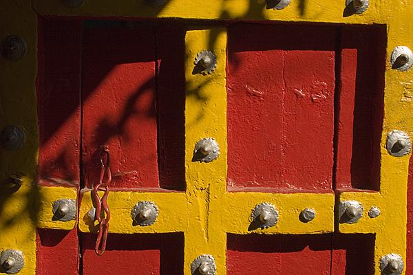 Sunil Kapadia - SKC 8773 Old Door with a New Paint