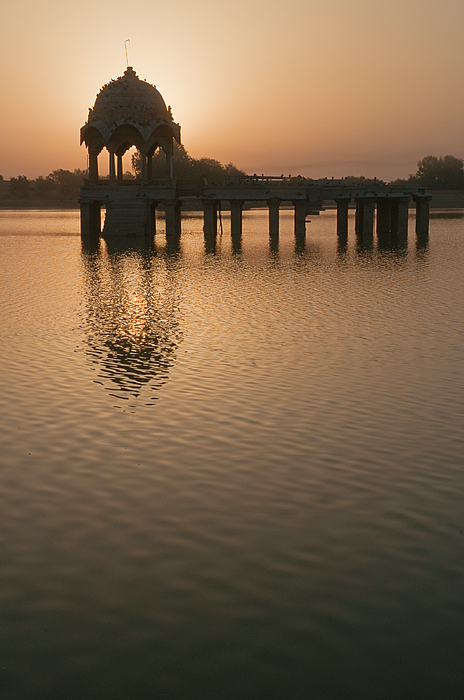Sunil Kapadia - SKN 1384 Morning at Gadisar Lake