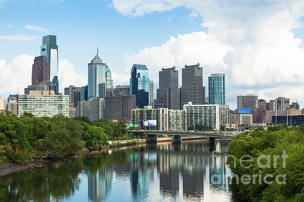 Samuel Borges - Skyline view of Philadelphia, Pennsylvania