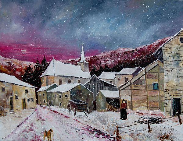 Pol Ledent - Snow Is Falling