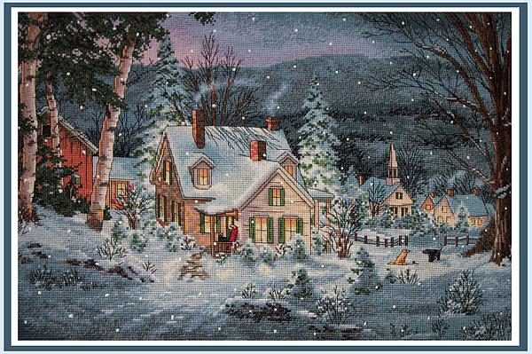 Sharon Horn - Snowy Cottage