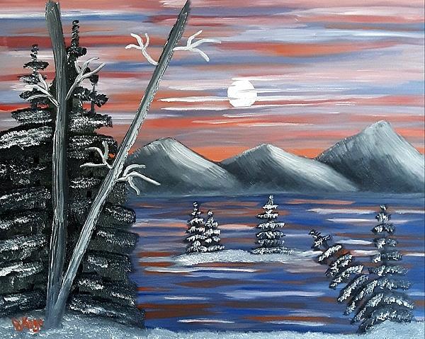 Janice Kaye - Snowy Night