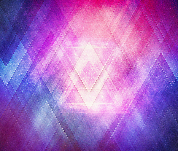 Soft Modern Fashion Pink Purple Bluetexture  Soft Light Glass Style   Triangle   Pattern Edit Digital Art