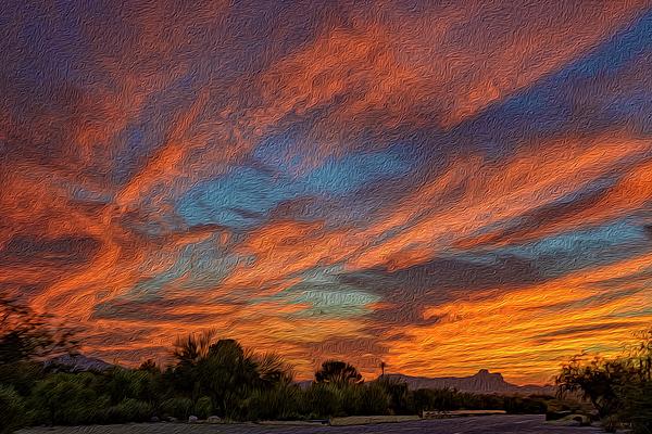Sombrero Sunset Op27 Photograph