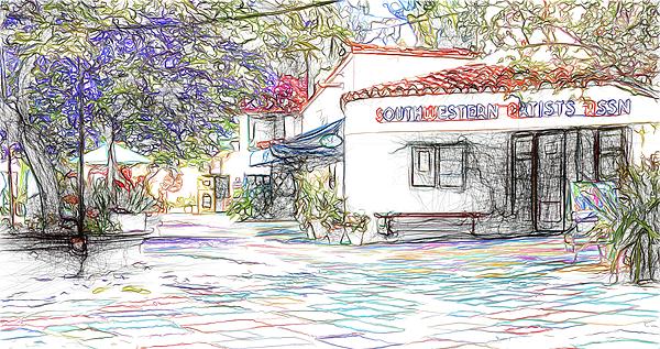 Kenneth Roberts - Spanish Village Art Center At Balboa Park 6