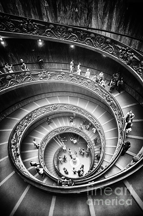 Stefano Senise - Spiral Staircase Vertical