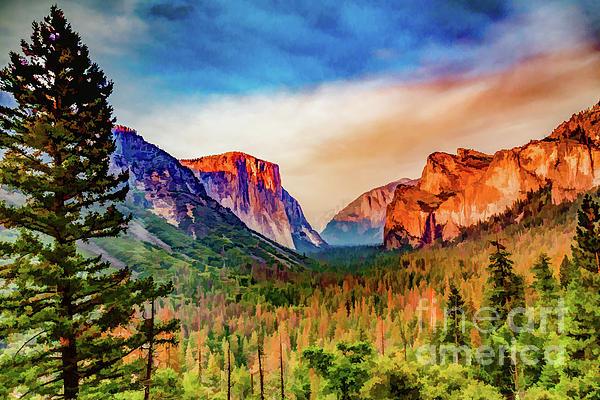 Lisa Lemmons-Powers - Splashes of Color in Yosemite