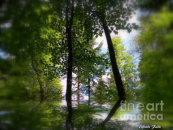 Elfriede Fulda - Spring Reflections