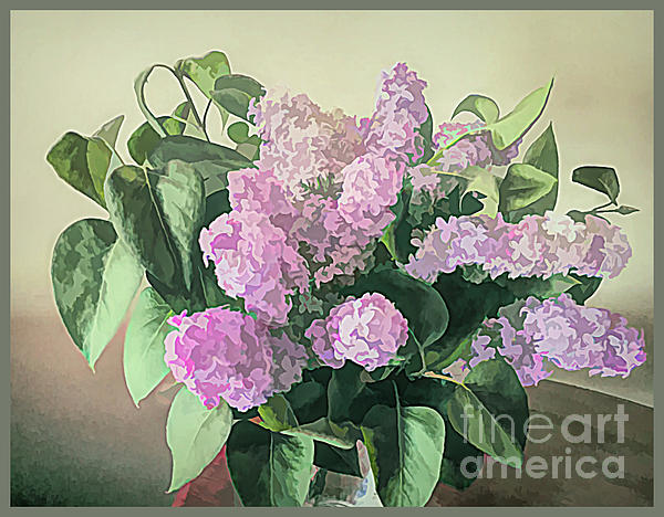Luther Fine Art - Springtime Lilacs