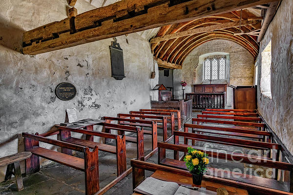 Adrian Evans - St Celynnin Church  Interior