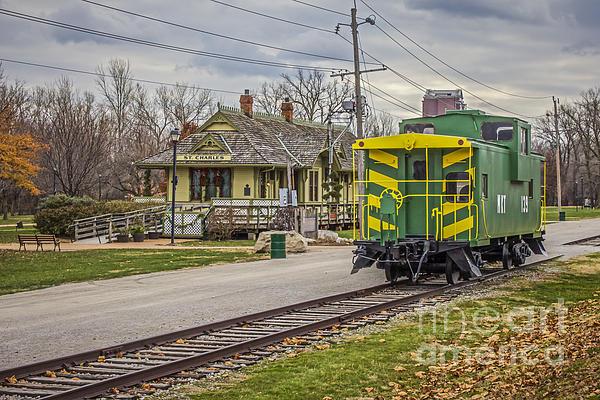 Jim Raines - St Charles MO Train Depot