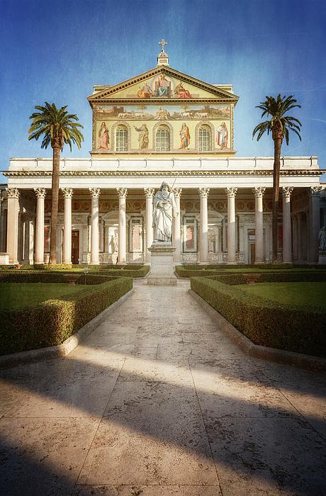 Joan Carroll - St Paul Outside the Walls Rome Italy