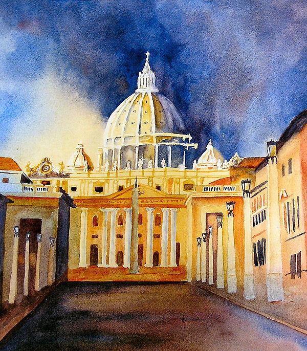 Karen Stark - St. Peters Basilica