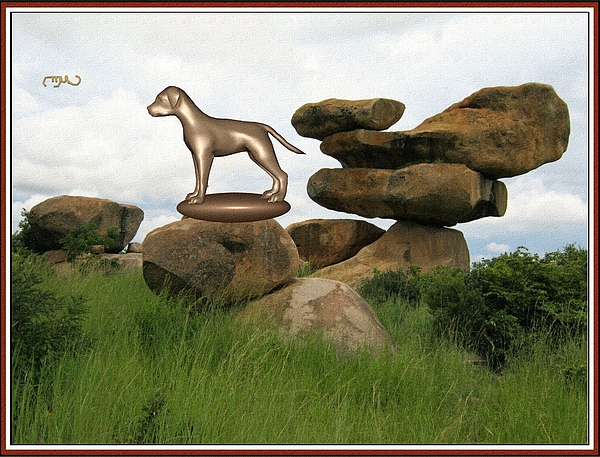 Pemaro - Statue of Dog