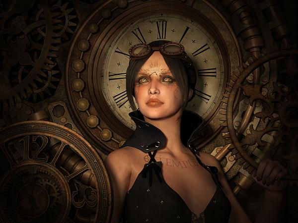 Britta Glodde - Steampunk Time Keeper
