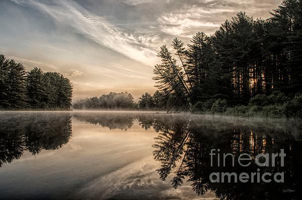 Jan Mulherin - Steely Sunrise on the Androscoggin River