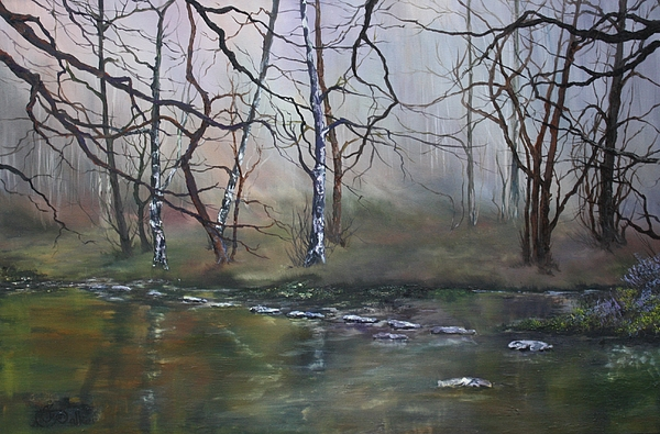 Jean Walker - Stepping Stones on Cannock Chase
