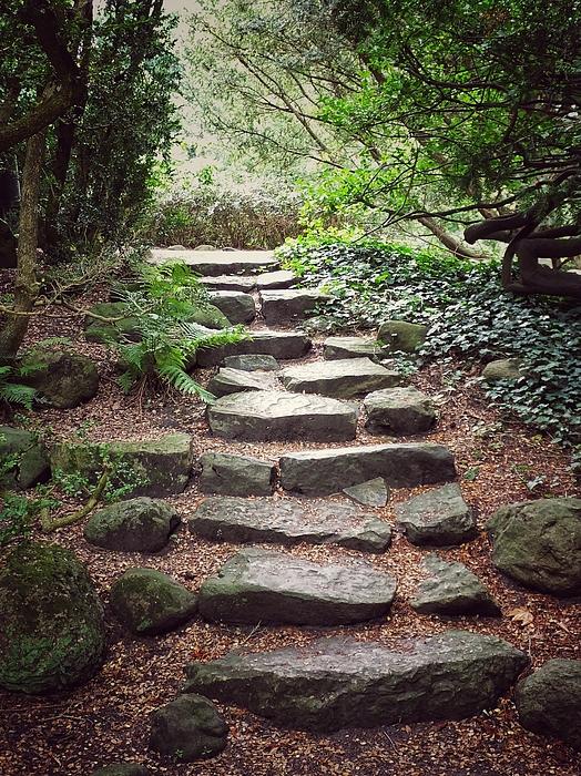 Karen Stahlros - Stone steps