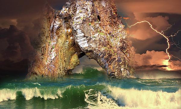 Yuri Hope - Storm near the cliffs of Golden Gate of Karadaga