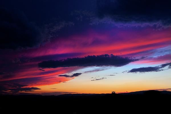 David Hare - Stormy Sunset