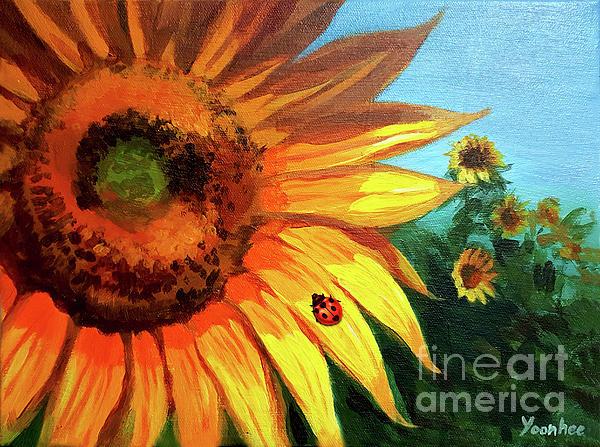 Yoonhee Ko -  Striking Sunflower
