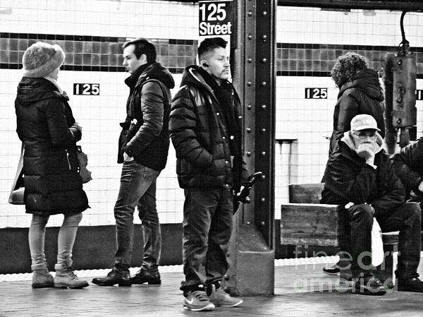 Sarah Loft - Subway Platform at 125th Street