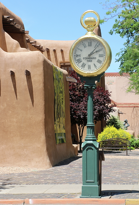 Christiane Schulze Art And Photography - Summer Afternoon In Santa Fe