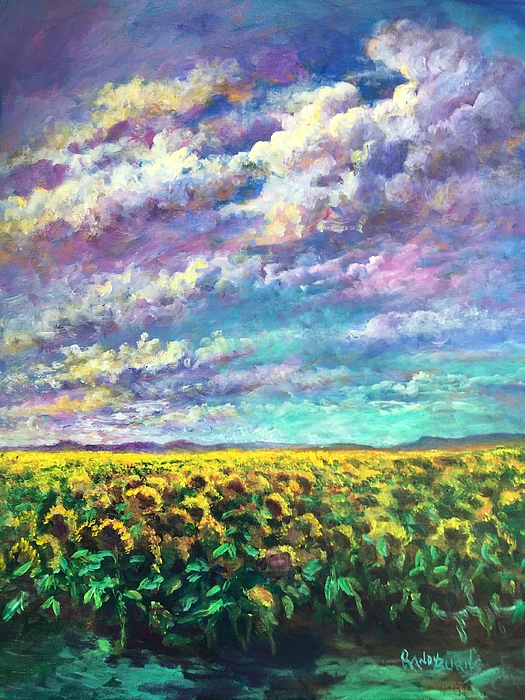 Randol Burns - Sunflower Days in Davis California