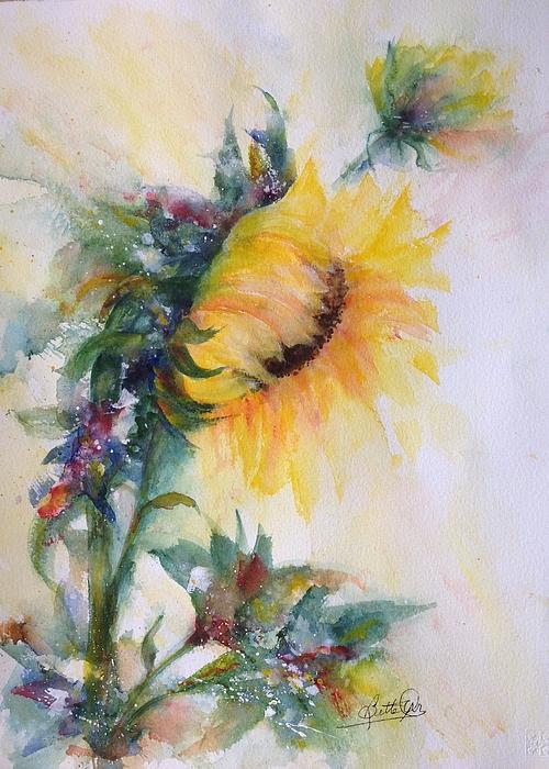 Bette Orr - Sunflower Happy