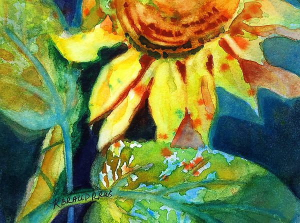 Kathy Braud - Sunflower Head 4