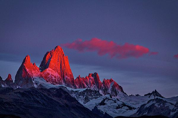 Stuart Litoff - Sunrise at Fitz Roy #3 - Patagonia