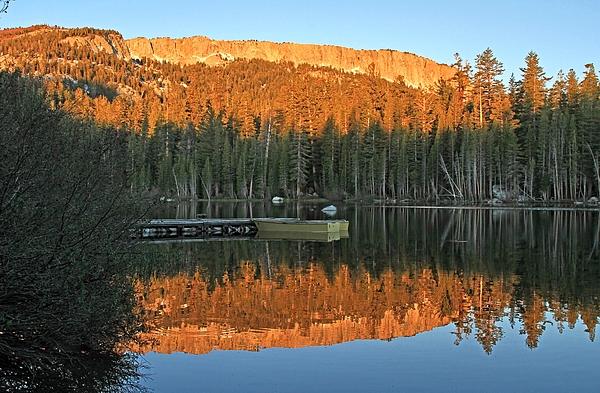 Donna Kennedy - Sunrise at Lake Mamie