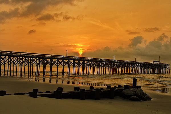 Bill Barber - Sunrise at Pawleys Island