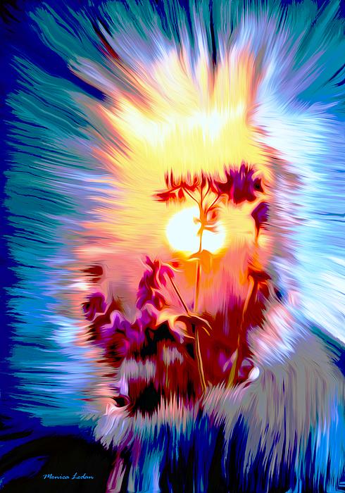 Monica Ledan - Sunrise Flower