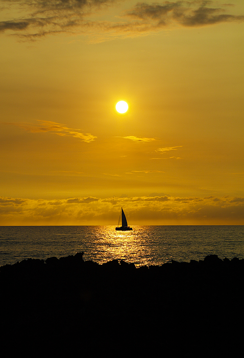Grant Sorenson - Sunset and Sail