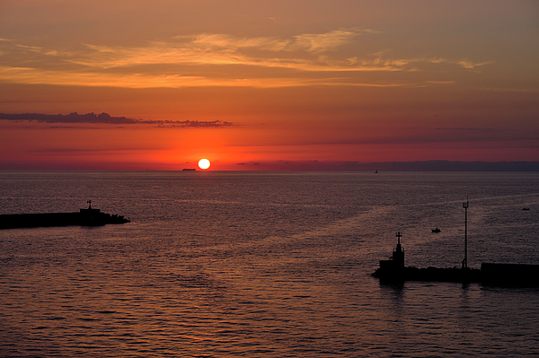 Guido Montanes Castillo - Sunset at Livorno. Tuscany. Italy