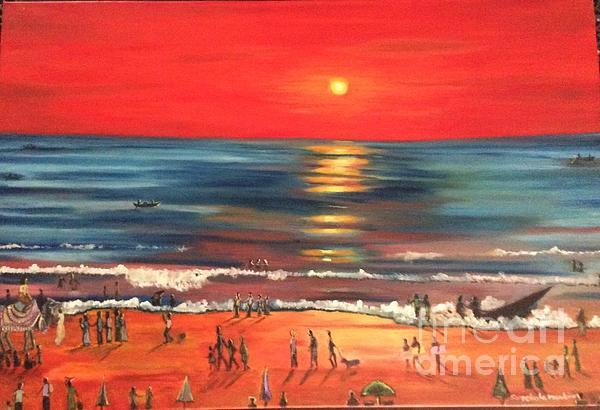 Sreekala Nambiar - Sunset  beach