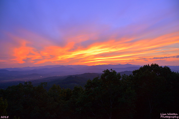Lisa Wooten - Sunset In The Mountains