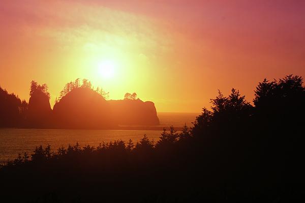 Art Spectrum - Sunset Light On Second Beach