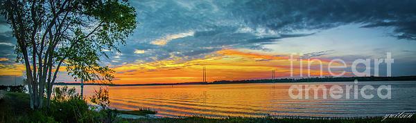 Yvette Wilson - Sunset Over the Ashley River