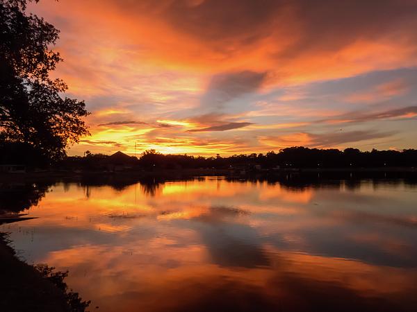 Zina Stromberg - Sunset reflection
