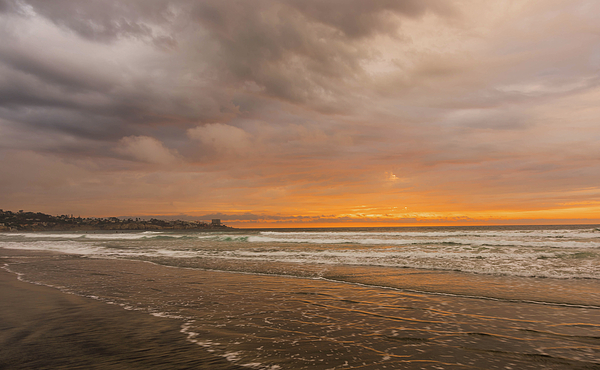 Bruce Pritchett - Sunset Scripps Beach La Jolla Ca
